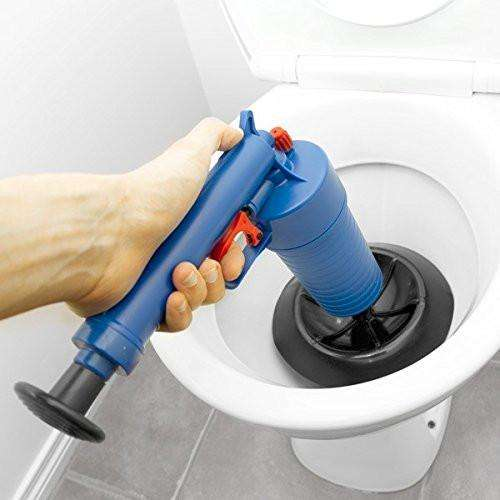 Sponges & Scouring Pads - High Pressure Air Drain Blaster - Drain Cleaner Clogged Pipes And Drains