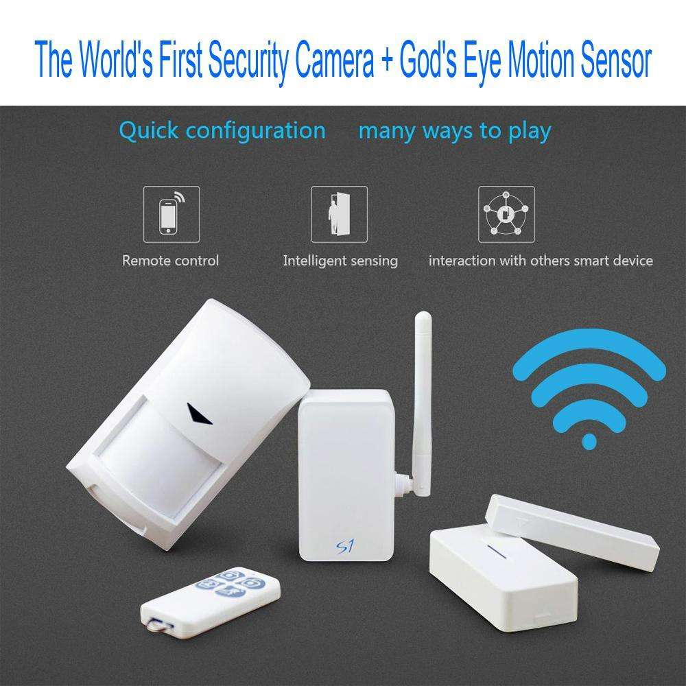 Surveillance Cameras - God's Eye Motion Sensor - Keep An Eye On Your Home While You're Away!