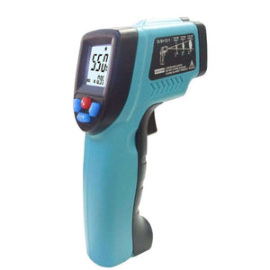 Temperature Instruments - Infrared Thermometer Gun - The Right Tool For Your Application!