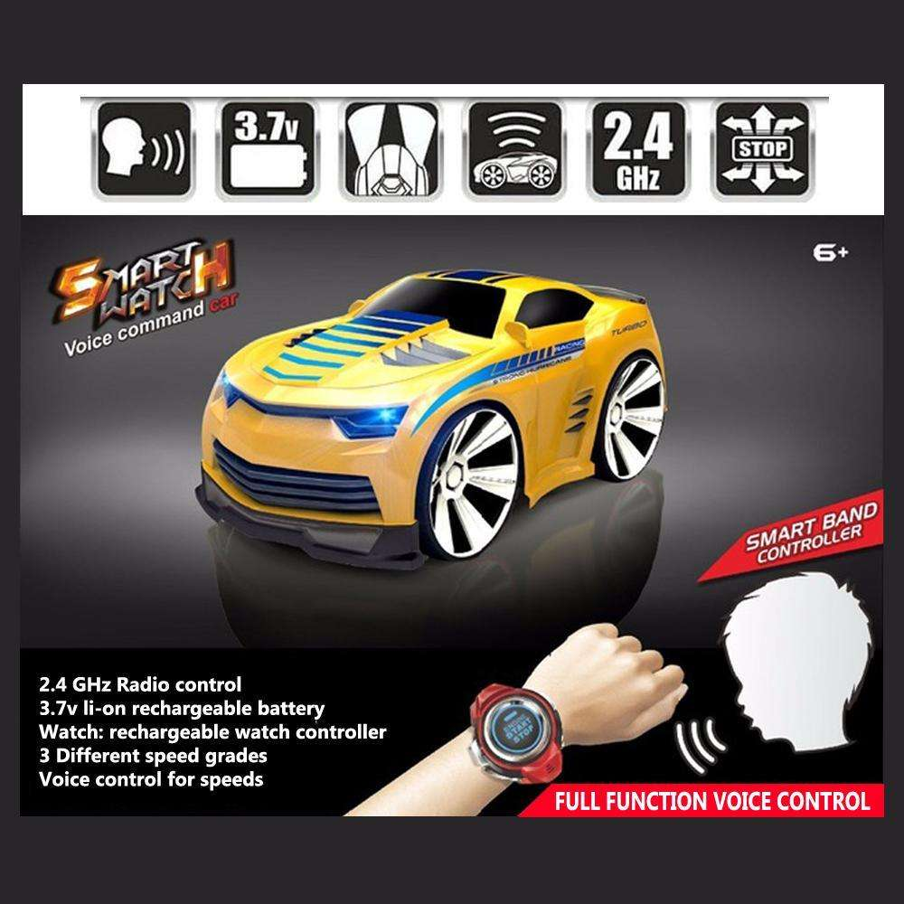 af6461a4879 Voice Activated Remote Control RC Car - Get Your Child s Cheerfulness! –  icoolgadgets.com