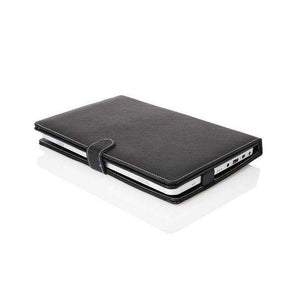 Leather Cover Case - Cover Micro USB With Keyboard Stand Tablet
