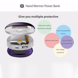 Power Bank with Hand Warmer Mini pocket heater