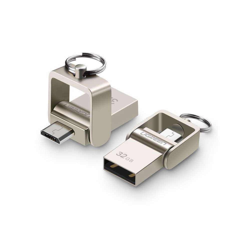 USB Flash Drives - USB Flash Drive Metal OTG Pendrive High Speed