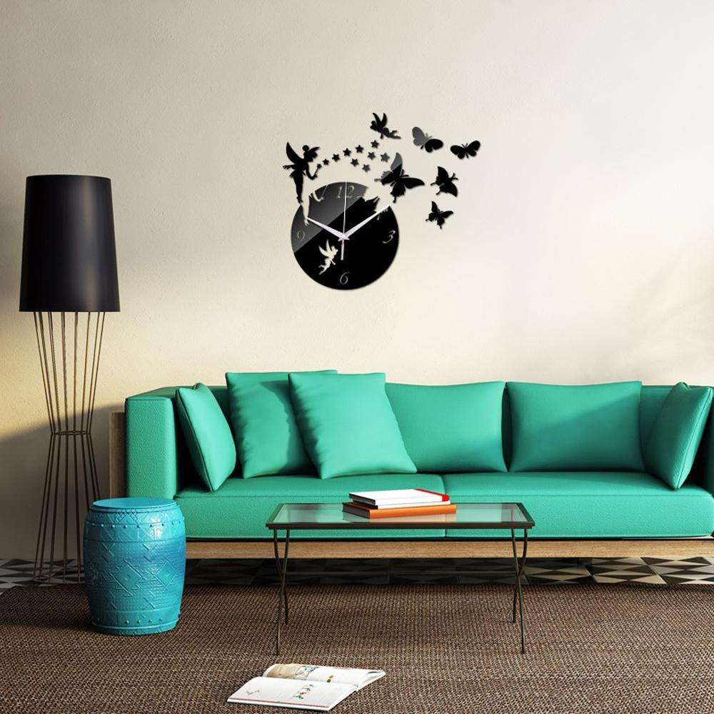 3d home decor diy acrylic wall clock make your wall more wall clocks 3d home decor diy acrylic wall clock make your wall more beautiful amipublicfo Image collections