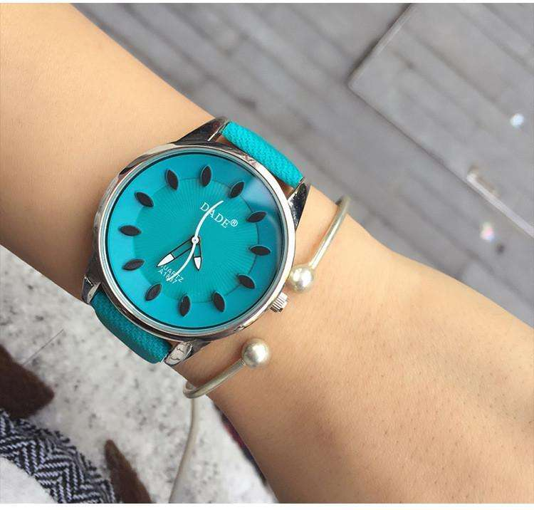 Women's Watches - Fashion Simple Style Women Casual Leather Watches