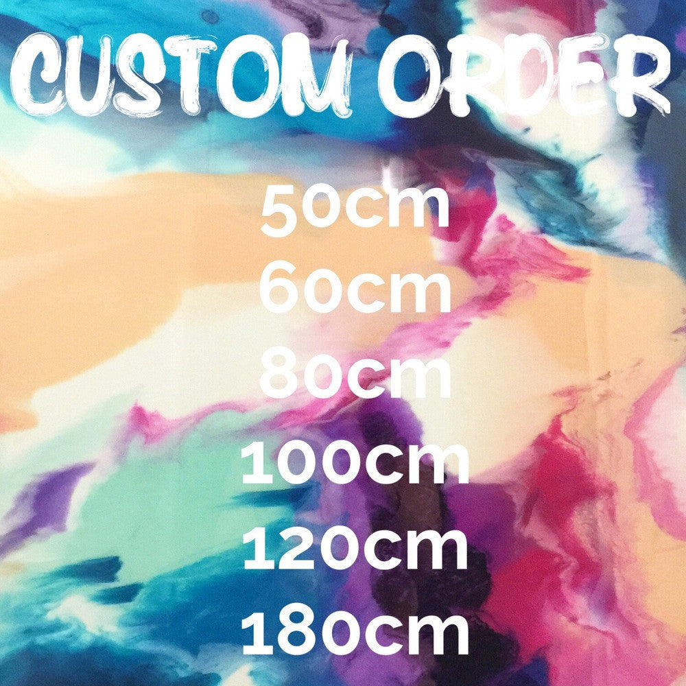 Custom Order Round Resin Artwork