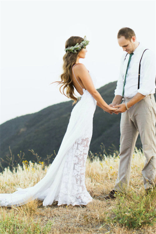 Still hunting for your dream beach wedding dress?