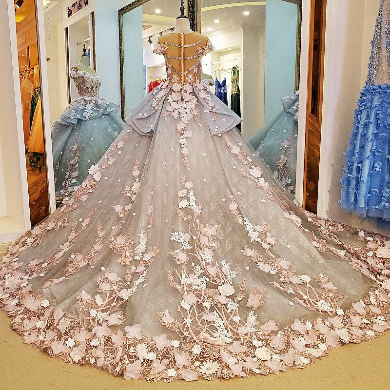 2582ad86281 This item  Luxury Ball Gown Wedding Dresses Online Princess Sweetheart Pink  Prom Evening Dress Handmade
