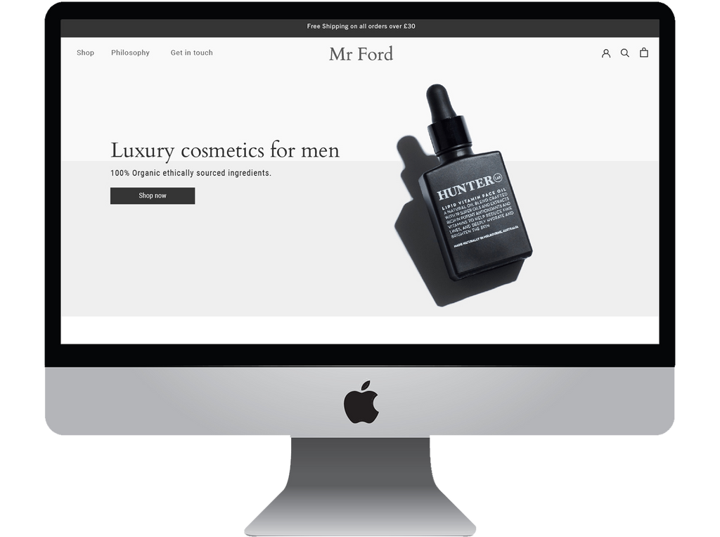 Mens Luxury Cosmetics