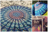 The Boho Street Branded Cotton Mandala Roundies,Beach Throw, Indian Mandala Tapestry, Yoga Mat, Picnic Mat , Table throw, Table cover