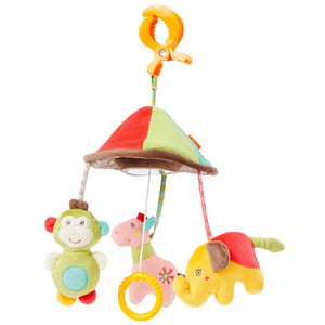 BabyFehn German Soft Toys - Mini Musical Mobile (2 designs)