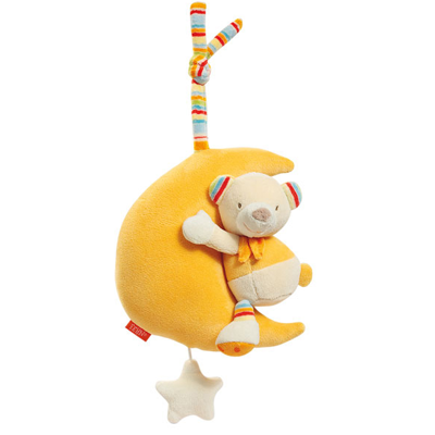 BabyFehn German Soft Toys - Musicals Teddy in Moon
