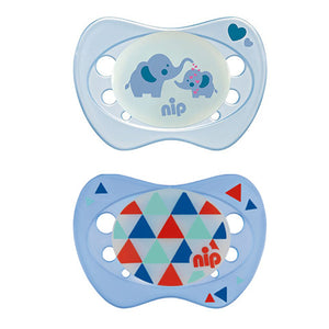 NIP Soother Night, Size 1 (6 designs)