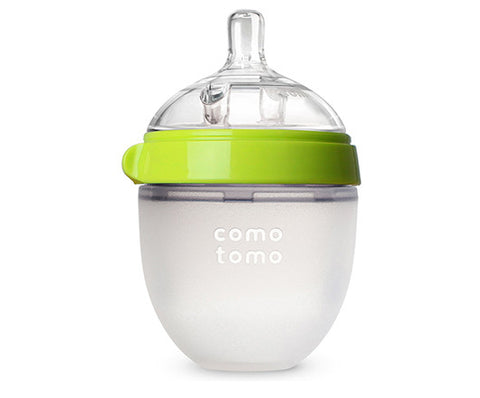 Comotomo Silicone Bottle, 150ml, Green