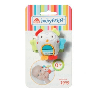 BabyFehn German Soft Toys - Wrist Rattle (8 designs)