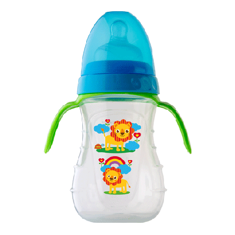 Rotho Babydesign Trainer Bottle w/ Two Teats