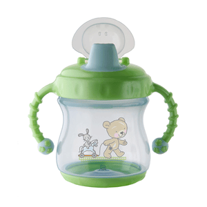 Rotho Babydesign Twin Handle Non Spil Cup w/ cover