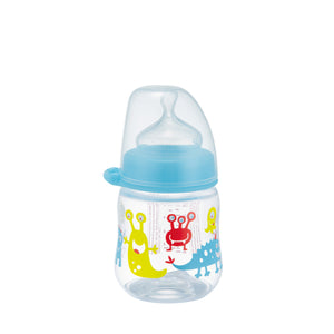 NIP Orthodontic PP Wide Neck Bottle, 150ml (2 designs)