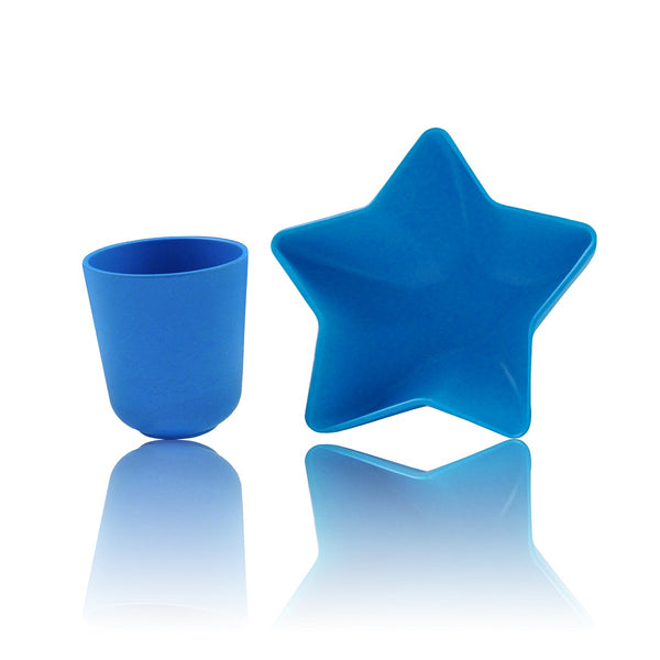 Pacific Baby Bamboo Star Bowl & Cup (4 Designs)