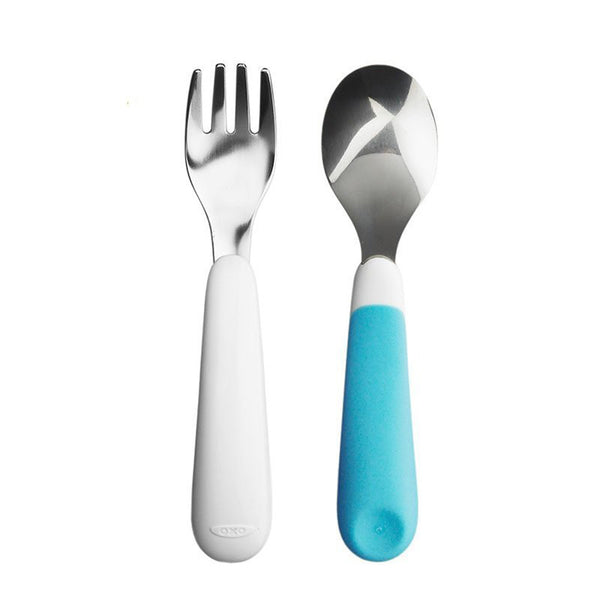Oxo Tot Fork & Spoon Set