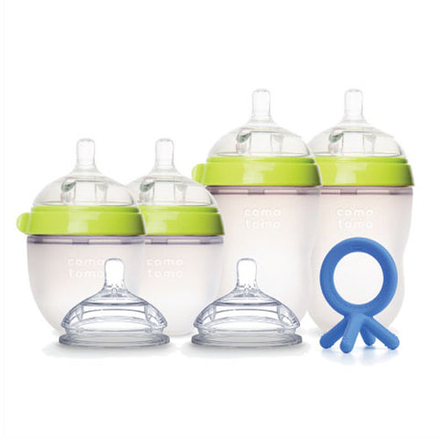 Comotomo Newborn Starter Set, Green