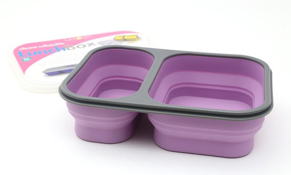 Lexngo Silicone Collapsible Lunch Box 4 Designs