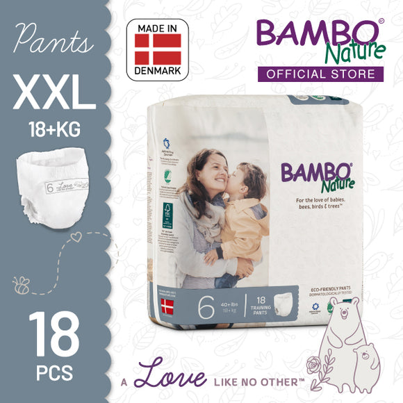 Bambo Nature Training Pants XXL (18+kg) [1 pack, 18pcs/pack]