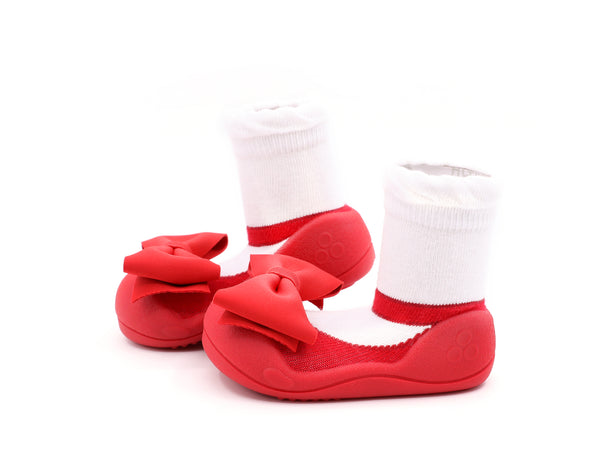 attipas Toddler Shoes - Mary Jane (Red)