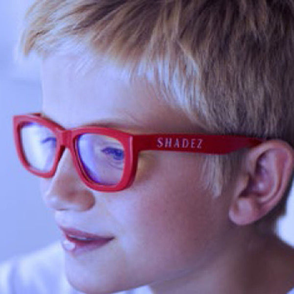 Shadez Kids Eyewear Protection - Blue Light [Red]