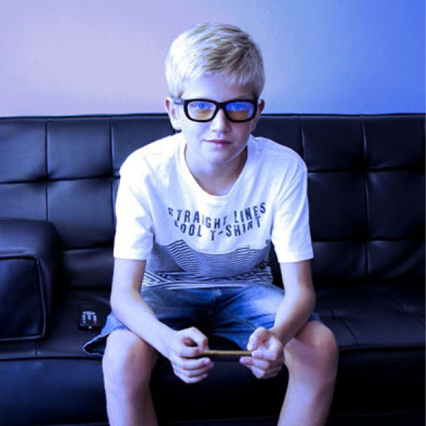 Shadez Kids Eyewear Protection - Blue Light [White]