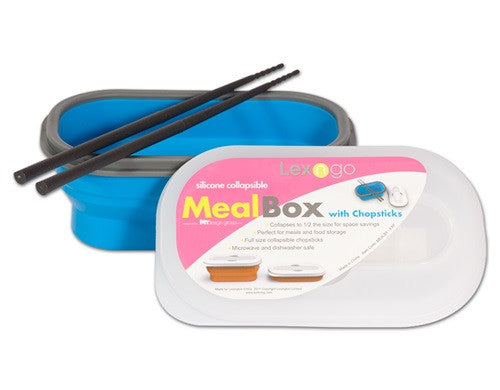 Lexngo Silicone Meal Box w/ Chopsticks (3 Designs)