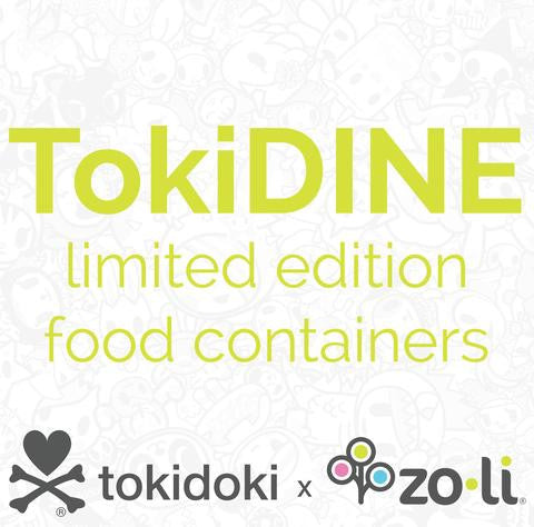 Zoli x Tokidoki TOKIDINE Insulated Food Container, Pink
