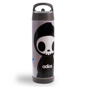Zoli x Tokidoki TOKIPIP Insulated Beverage Container, Grey