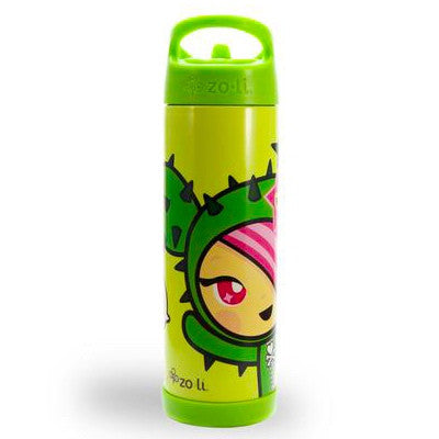 Zoli x Tokidoki TOKIPIP Insulated Beverage Container, Green