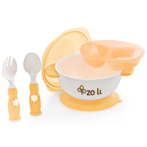 Zoli Stuck Suction Bowl Feeding Kit (2 Designs)