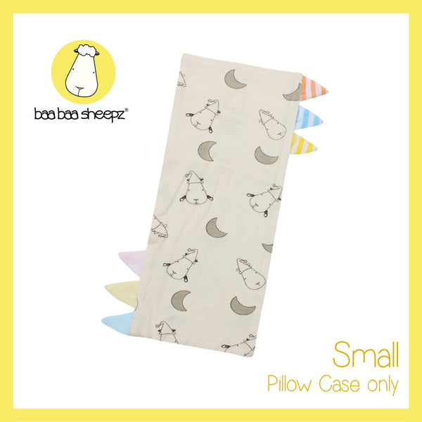 Bed-Time Buddy™ Case Small Moon & Sheepz Yellow with Color & Stripe tag - Small