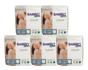 Bambo Nature Training Pants Large (8-12kg) [5 pack, 110pcs/5 pack]
