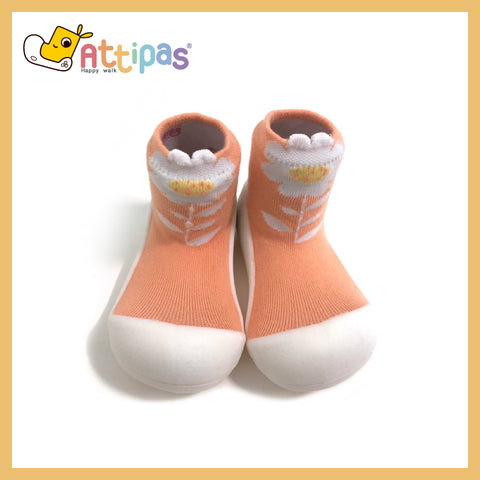 attipas Toddler Shoes - Flower Series (Peach)