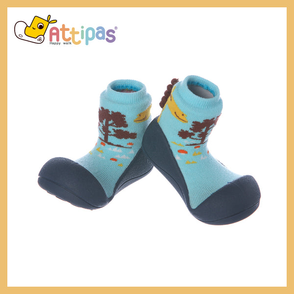 attipas Toddler Shoes - Giraffe (Navy)