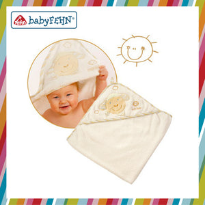BabyFehn German Soft Toys - Hooded Bath Towel (2 designs)