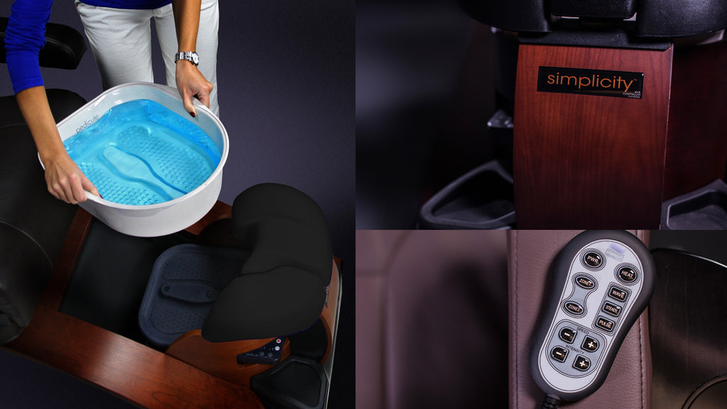 What is a No-Plumbing Pedicure Chair or Portable Pedicure Chair?