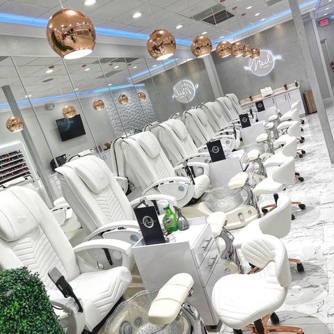 Whale Spa Crane White Edition in a gorgeous white salon setting - www.ChairsThatGive,com