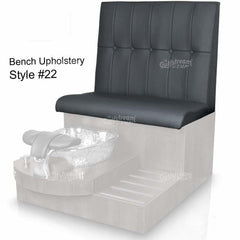 Gulfstream Bench Upholstery Pattern - Style 22 - www.ChairsThatGive