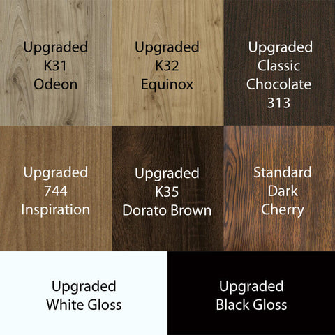 Gulfstream Optional Laminate Colors - www.ChairsThatGive