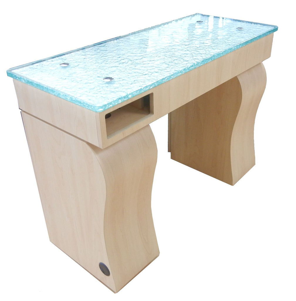 ... Gulfstream Gulfstream La Rose Single Nail Table Manicure Nail Table - ChairsThatGive ...  sc 1 st  Chairs That Give & Gulfstream La Rose Single Nail Table u2013 Chairs That Give