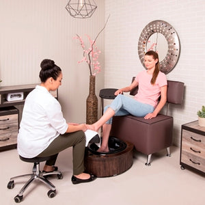 Belava Belava One and Half Seater Salon Chair Pedicure & Spa Chairs - ChairsThatGive