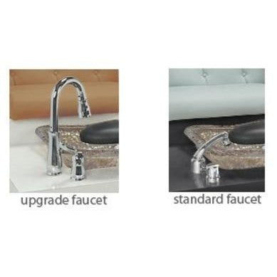 Image of Gulfstream Gulfstream Double Bench Faucets Option Upgraded Faucet - ChairsThatGive