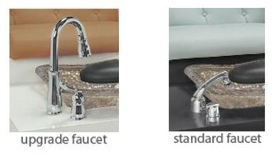 Gulfstream Gulfstream Triple Bench Faucets Option Upgraded Faucet - ChairsThatGive