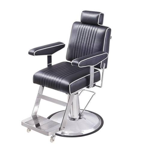 Image of Dream In Reality DIR Executive Reclining Barber Chair Barber Chairs - ChairsThatGive