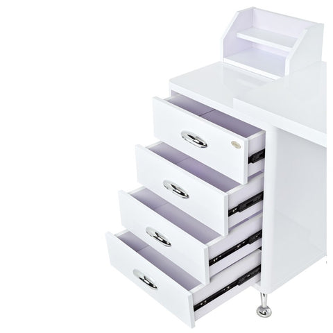 Image of Dream In Reality DIR Monoco Manicure Nail Table Manicure Table - ChairsThatGive